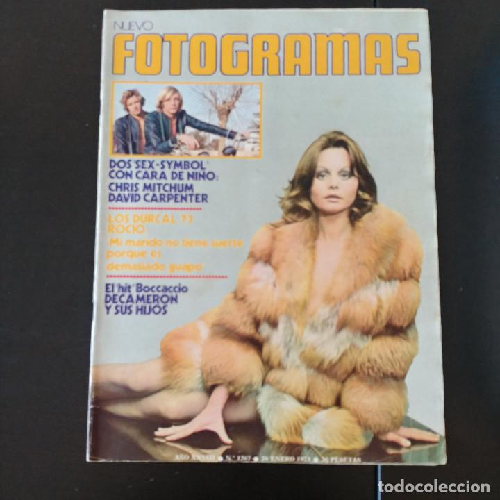 FOTOGRAMAS 1267 - 26 ENERO 1973 / CHRIS MITCHUM - DAVID CARPENTER - ROCIO DURCAL (Cine - Revistas - Fotogramas)