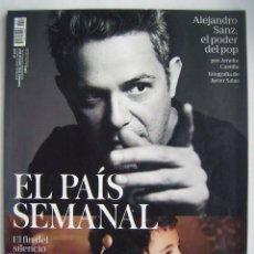 Cine: ALEJANDRO SANZ. REVISTA EL PAÍS SEMANAL, DE 2017.98 PÁGINAS.. Lote 257343780