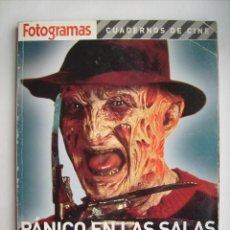 Cine: CUADERNOS DE FOTOGRAMAS TERROR. LIBRO DE 2005. 168 PÁGINAS. 20 X 26,5 CMS.. Lote 257345950
