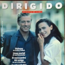 Cine: MAGAZINE DIRIGIDO 187 - ROBERT REDFORD - LENA OLIN - IMAMURA. Lote 257420670