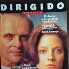 Cine: MAGAZINE DIRIGIDO 193 - ANTHONY HOPKINS - JODIE FOSTER -SILENCIO DE LOS CORDEROS. Lote 257430165