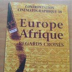 Cine: REVISTA FRANCESA DE CINE CONFRONTATION CINEMATOGRAPHIQUE Nº34 EUROPE AFRIQUE ABRIL 1998. Lote 257437915