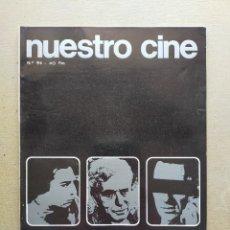Cine: NUESTRO CINE: Nº 94 - BUSTER KEATON // CHARLES CHAPLIN // F. FERNAN GOMEZ - FEBRERO 1970. Lote 257502515
