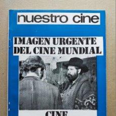 Cine: NUESTRO CINE: Nº 92 - LUIS BUÑUEL // CINE MEXICANO - DICIEMBRE 1969. Lote 257504835