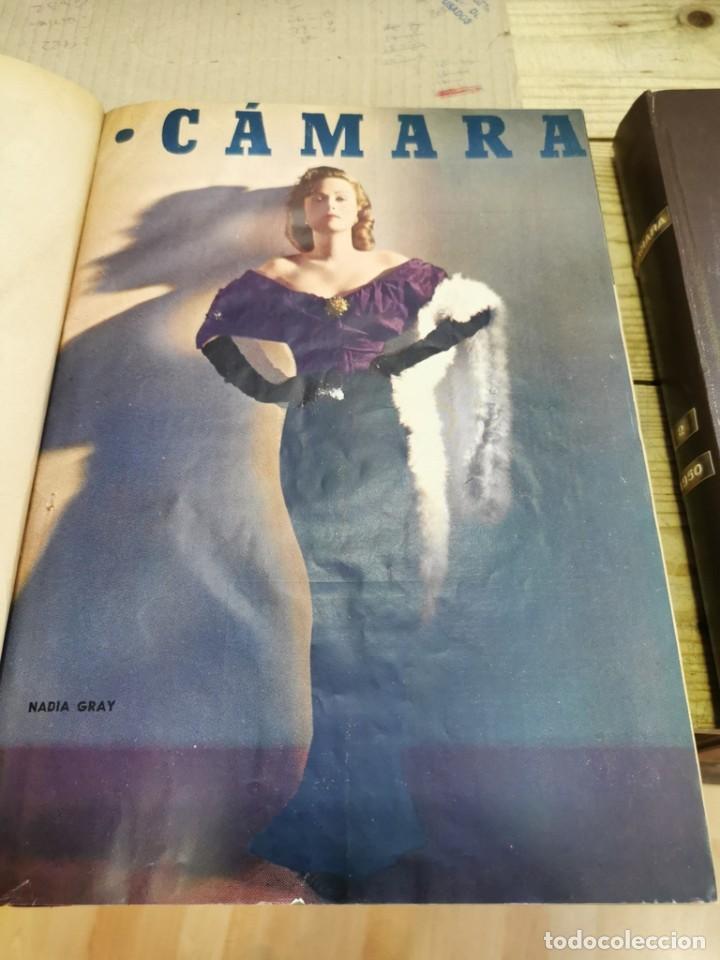 Cine: revista camara, encuadernada, año 1950 completo, 2 TOMOS nº 168 A 191, 24 revistas - Foto 3 - 257580000