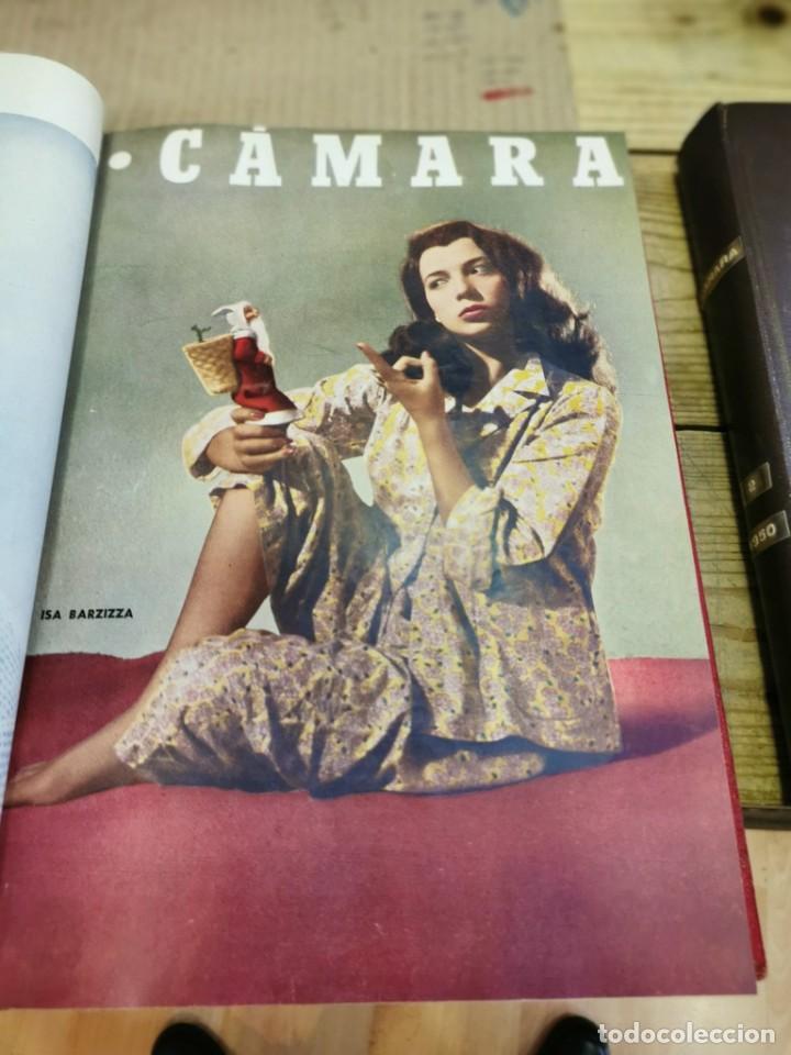 Cine: revista camara, encuadernada, año 1950 completo, 2 TOMOS nº 168 A 191, 24 revistas - Foto 5 - 257580000