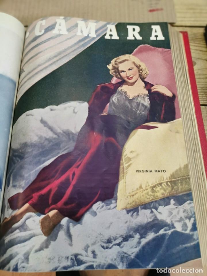 Cine: revista camara, encuadernada, año 1950 completo, 2 TOMOS nº 168 A 191, 24 revistas - Foto 7 - 257580000