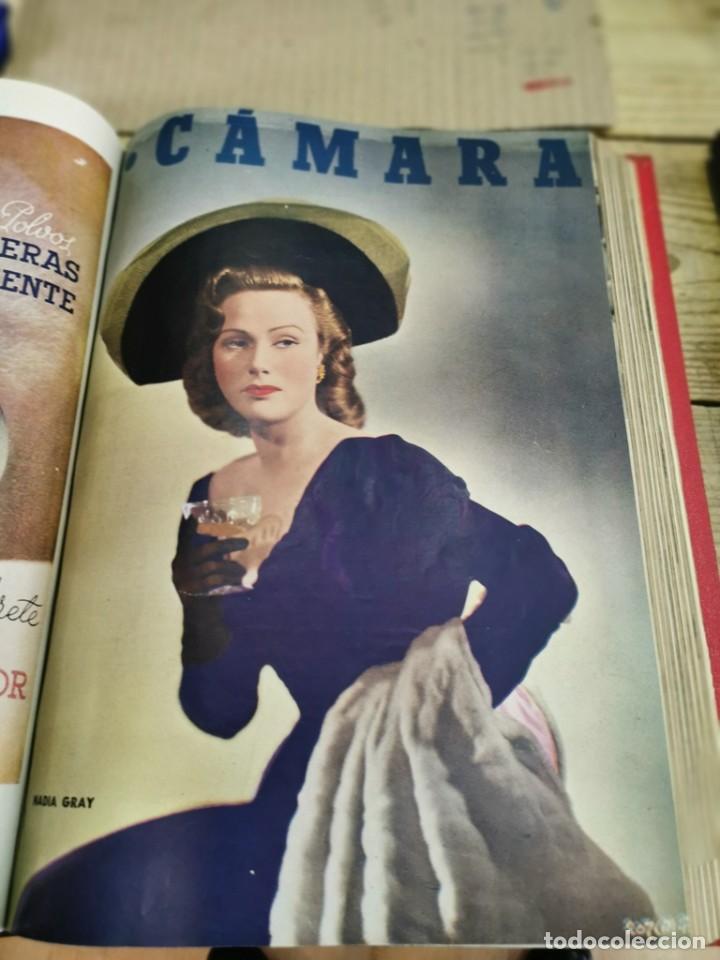 Cine: revista camara, encuadernada, año 1950 completo, 2 TOMOS nº 168 A 191, 24 revistas - Foto 8 - 257580000