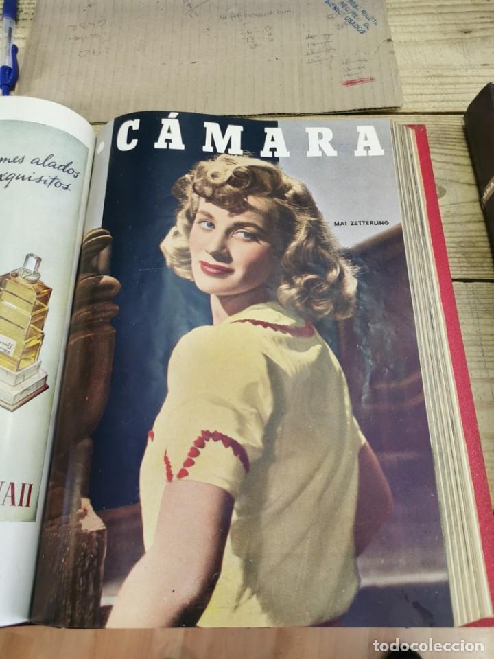 Cine: revista camara, encuadernada, año 1950 completo, 2 TOMOS nº 168 A 191, 24 revistas - Foto 10 - 257580000