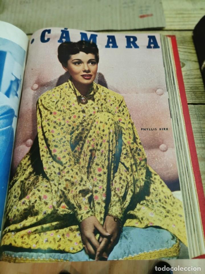 Cine: revista camara, encuadernada, año 1950 completo, 2 TOMOS nº 168 A 191, 24 revistas - Foto 11 - 257580000