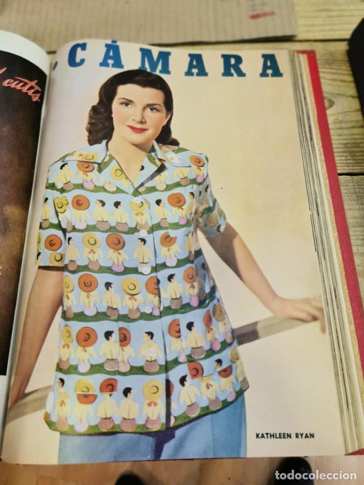 Cine: revista camara, encuadernada, año 1950 completo, 2 TOMOS nº 168 A 191, 24 revistas - Foto 12 - 257580000