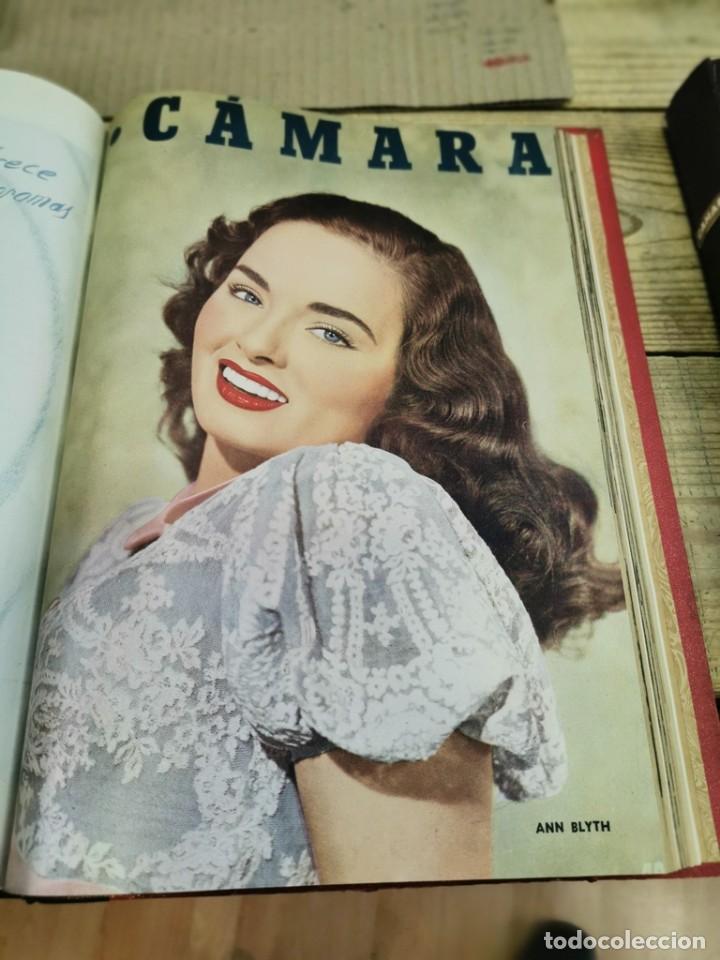 Cine: revista camara, encuadernada, año 1950 completo, 2 TOMOS nº 168 A 191, 24 revistas - Foto 13 - 257580000