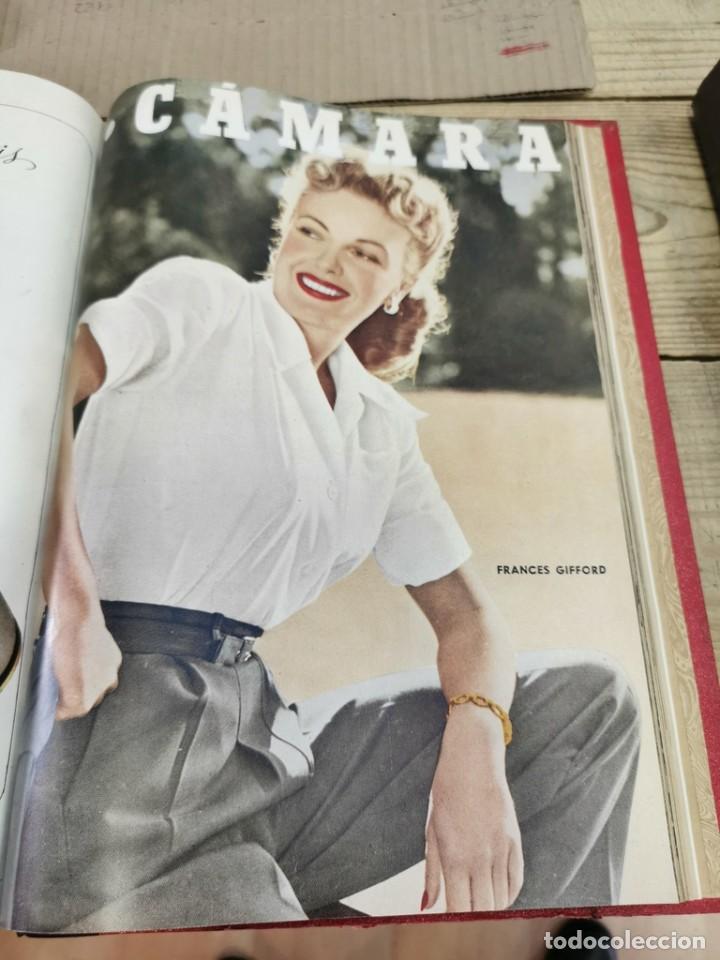 Cine: revista camara, encuadernada, año 1950 completo, 2 TOMOS nº 168 A 191, 24 revistas - Foto 14 - 257580000