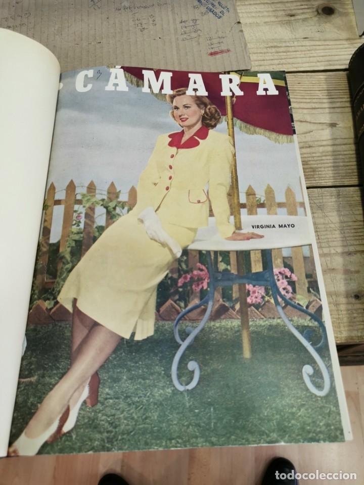 Cine: revista camara, encuadernada, año 1950 completo, 2 TOMOS nº 168 A 191, 24 revistas - Foto 15 - 257580000