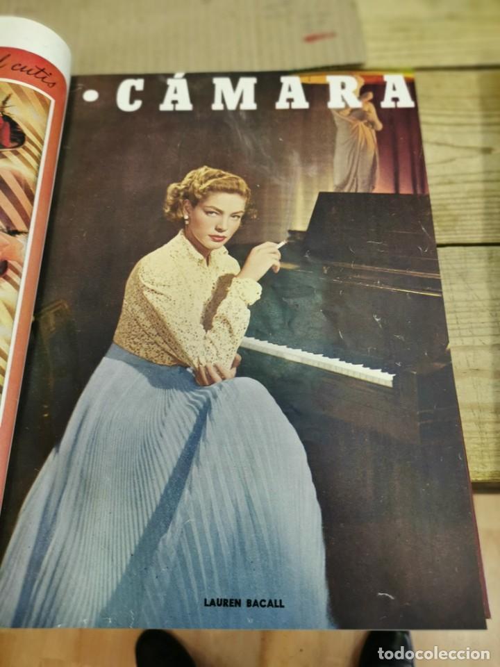 Cine: revista camara, encuadernada, año 1950 completo, 2 TOMOS nº 168 A 191, 24 revistas - Foto 16 - 257580000