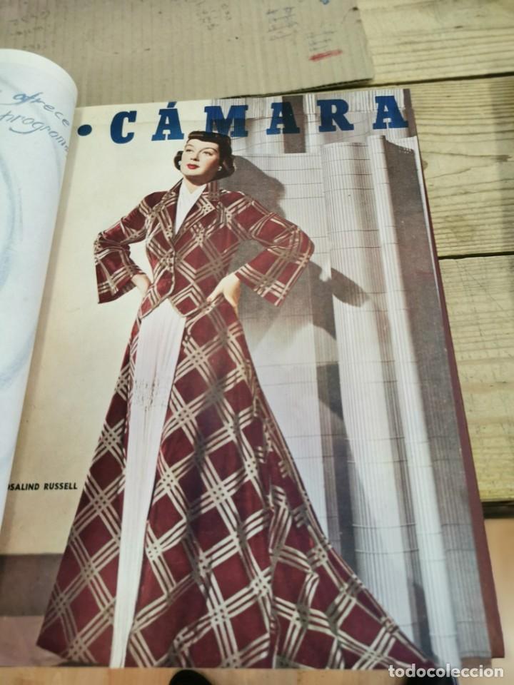 Cine: revista camara, encuadernada, año 1950 completo, 2 TOMOS nº 168 A 191, 24 revistas - Foto 17 - 257580000
