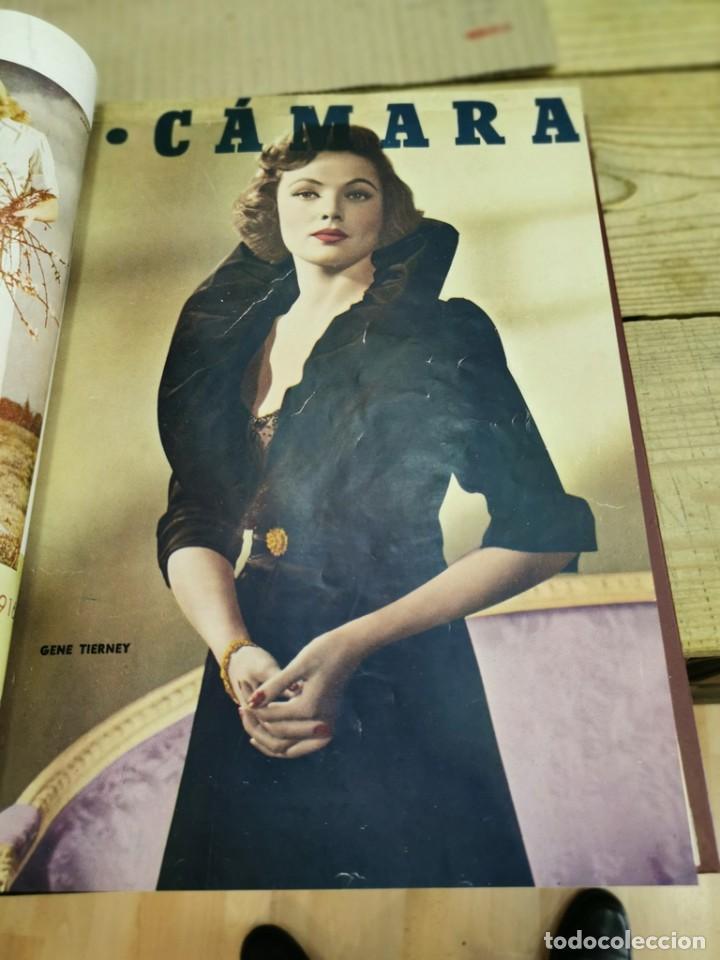 Cine: revista camara, encuadernada, año 1950 completo, 2 TOMOS nº 168 A 191, 24 revistas - Foto 18 - 257580000