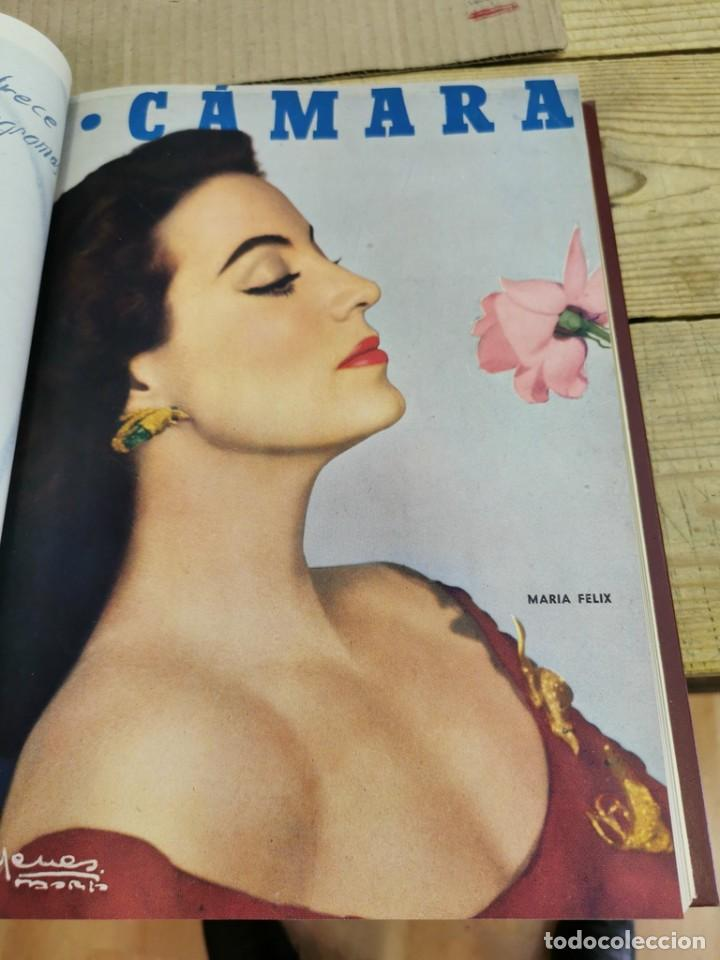 Cine: revista camara, encuadernada, año 1950 completo, 2 TOMOS nº 168 A 191, 24 revistas - Foto 19 - 257580000