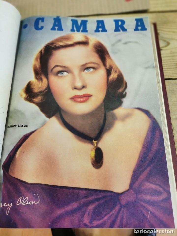 Cine: revista camara, encuadernada, año 1950 completo, 2 TOMOS nº 168 A 191, 24 revistas - Foto 20 - 257580000