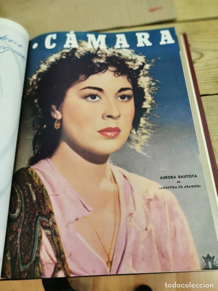 Cine: revista camara, encuadernada, año 1950 completo, 2 TOMOS nº 168 A 191, 24 revistas - Foto 21 - 257580000