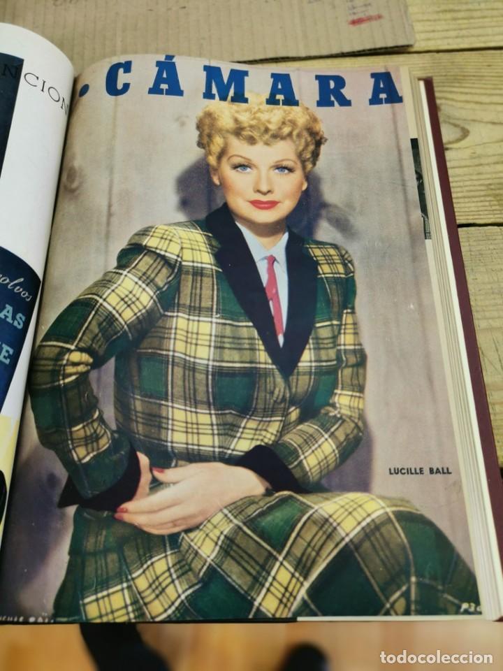 Cine: revista camara, encuadernada, año 1950 completo, 2 TOMOS nº 168 A 191, 24 revistas - Foto 22 - 257580000