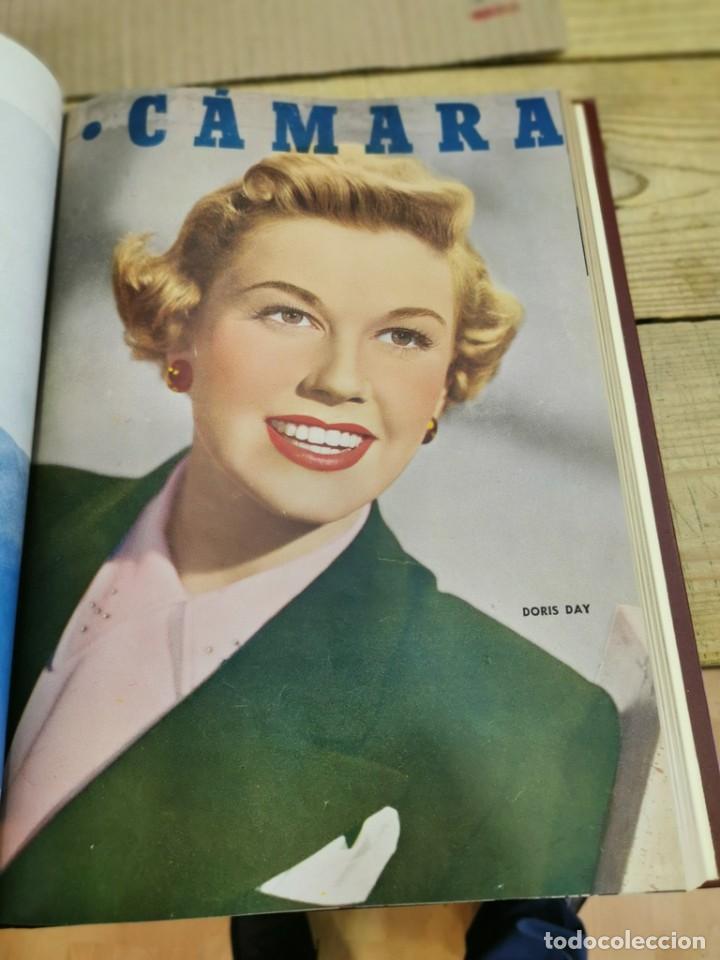 Cine: revista camara, encuadernada, año 1950 completo, 2 TOMOS nº 168 A 191, 24 revistas - Foto 23 - 257580000