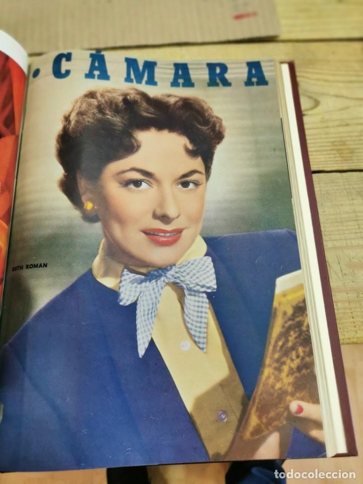 Cine: revista camara, encuadernada, año 1950 completo, 2 TOMOS nº 168 A 191, 24 revistas - Foto 24 - 257580000