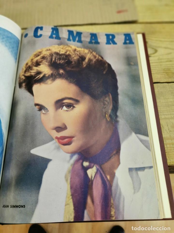 Cine: revista camara, encuadernada, año 1950 completo, 2 TOMOS nº 168 A 191, 24 revistas - Foto 25 - 257580000