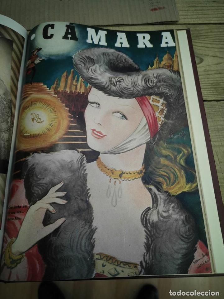 Cine: revista camara, encuadernada, año 1950 completo, 2 TOMOS nº 168 A 191, 24 revistas - Foto 26 - 257580000