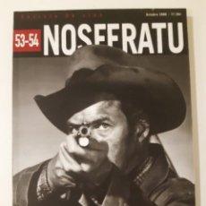 Cine: NOSFERATU. REVISTA DE CINE. 53/54. LA GENERACIÓN DE LA VIOLENCIA EN EL CINE NORTEAMERICANO. 2006. Lote 257590370