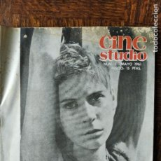 Cine: CINE STUDIO Nº 1 DE 1961- FERRERI- BERGMAN- ANTHONY MANN- VITTORIO DE SICA- FRANÇOIS TRUFFAUT- VALLA. Lote 257629585