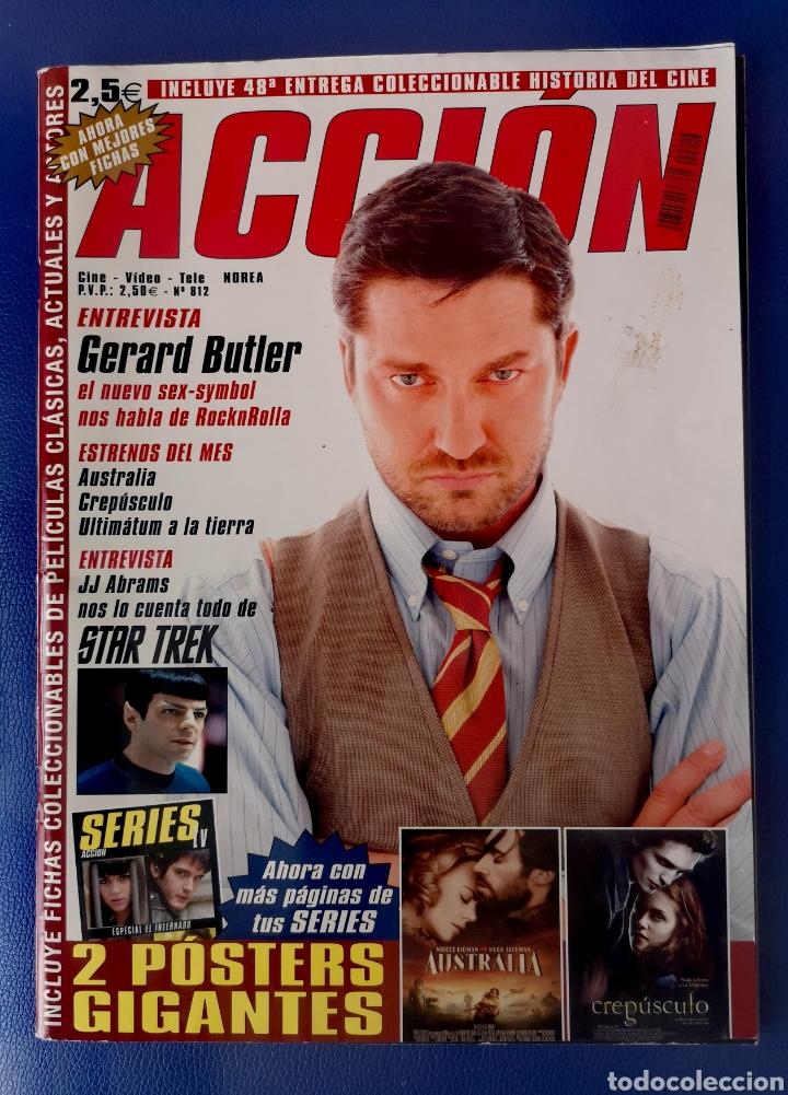 ACCION - REVISTA N°812 - POSTER DE EL CREPUSCULO (Cine - Revistas - Acción)