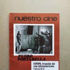 Cine: NUESTRO CINE: Nº 91 - PEDRO PORTABELLA // CINE LATINOAMERICANO - NOVIEMBRE 1969. Lote 257679795