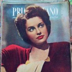Cine: REVISTA PRIMER PLANO. AÑO 1947. CHARLES BOYER, ALAN LADD, TYRONE POWER Y ANNABELLA, JAMES STEWART. Lote 257681420