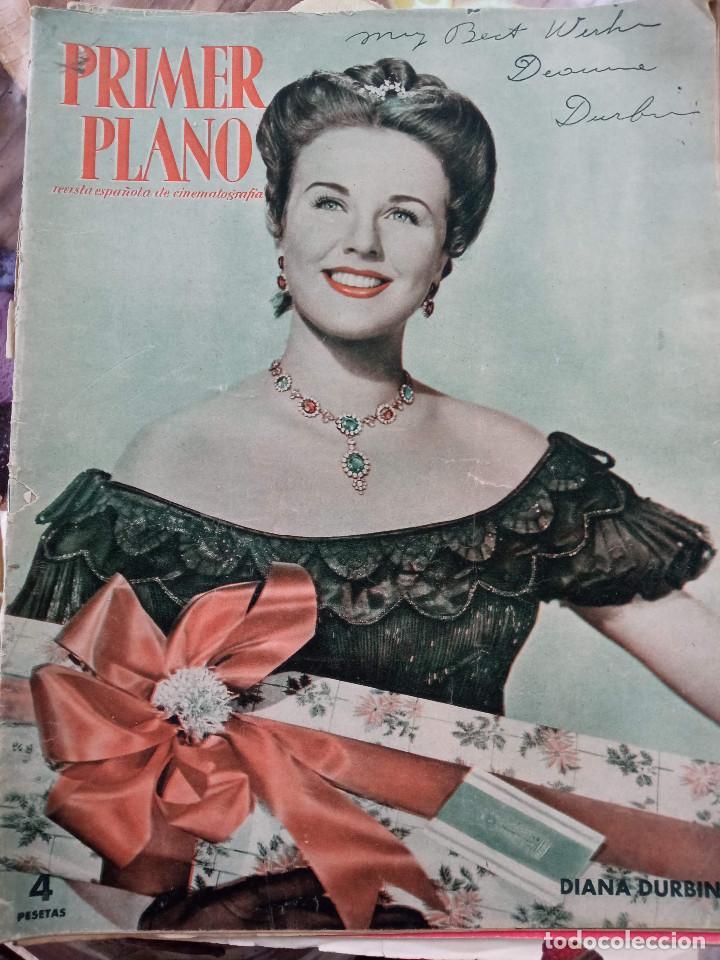 REVISTA PRIMER PLANO. AÑO 1951. DIANA DURBIN, CARMEN SEVILLA, LUIS MARIANO, EUGENIO IGLESIAS, LUIS M (Cine - Revistas - Primer plano)