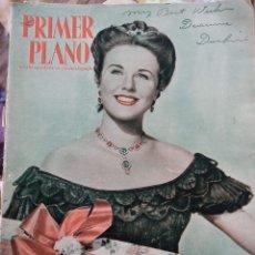 Cine: REVISTA PRIMER PLANO. AÑO 1951. DIANA DURBIN, CARMEN SEVILLA, LUIS MARIANO, EUGENIO IGLESIAS, LUIS M. Lote 257682280