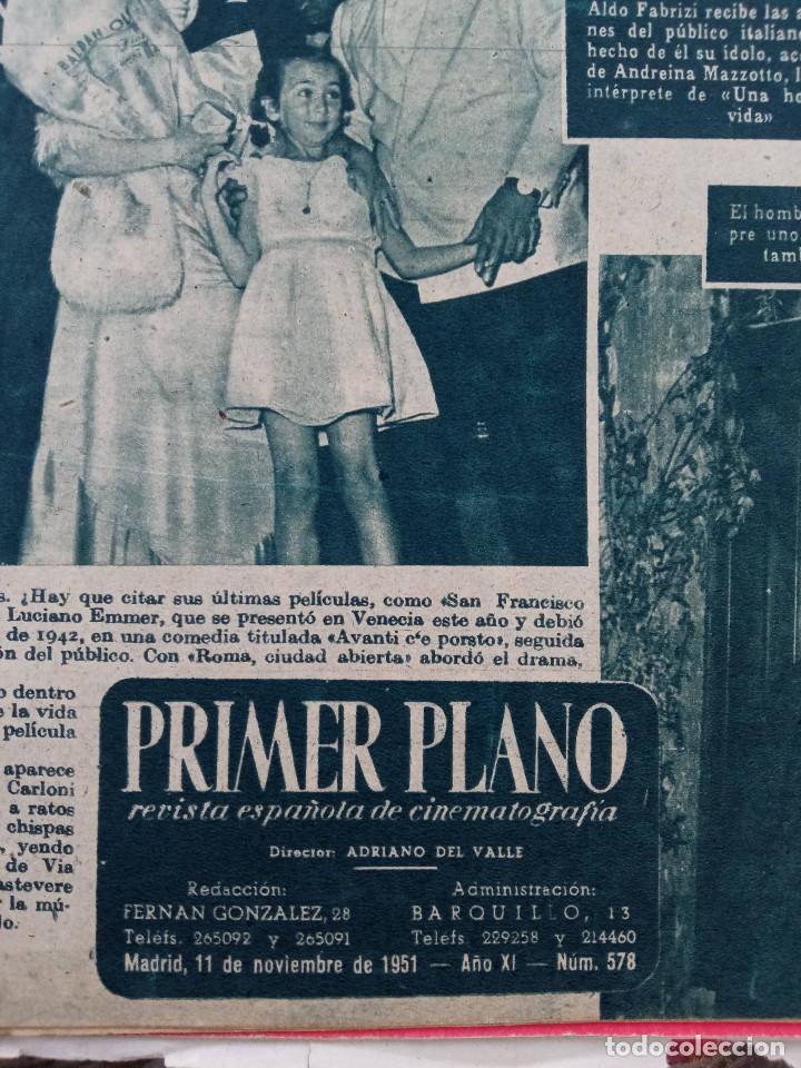 Cine: REVISTA PRIMER PLANO. AÑO 1951. DIANA DURBIN, CARMEN SEVILLA, LUIS MARIANO, EUGENIO IGLESIAS, LUIS M - Foto 2 - 257682280