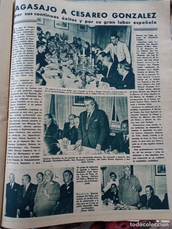 Cine: REVISTA PRIMER PLANO. AÑO 1951. DIANA DURBIN, CARMEN SEVILLA, LUIS MARIANO, EUGENIO IGLESIAS, LUIS M - Foto 3 - 257682280