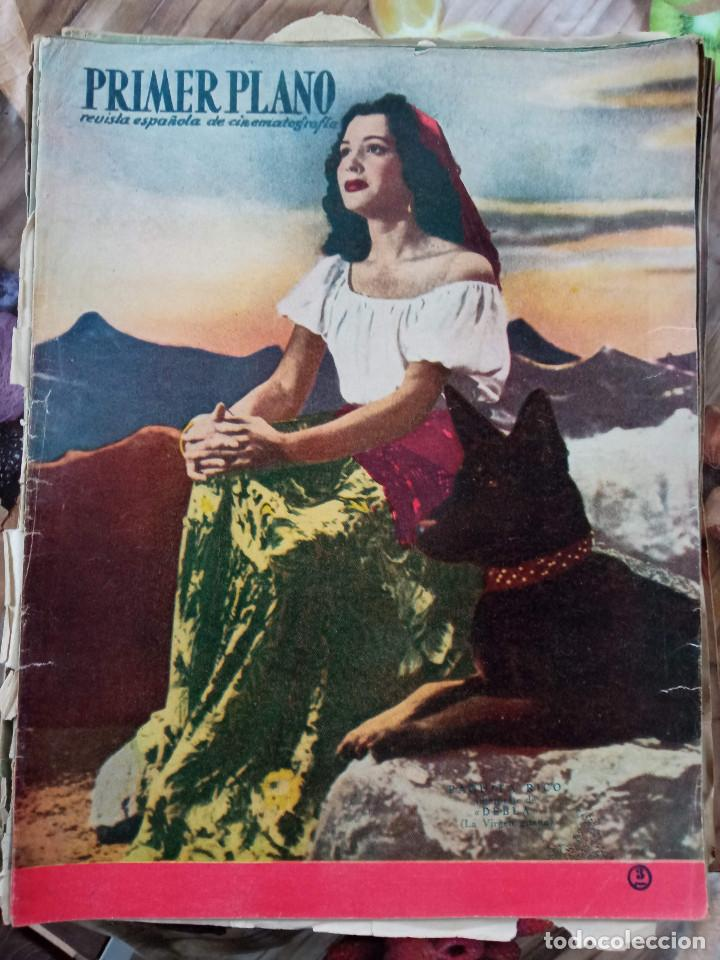 REVISTA PRIMER PLANO. AÑO 1950. PAQUITA RICO, FRED ASTAIRE VERA ALLEN, TEATRO APOLO, GARY COOPER, (Cine - Revistas - Primer plano)