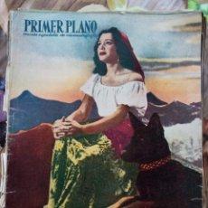 Cine: REVISTA PRIMER PLANO. AÑO 1950. PAQUITA RICO, FRED ASTAIRE VERA ALLEN, TEATRO APOLO, GARY COOPER,. Lote 257684410
