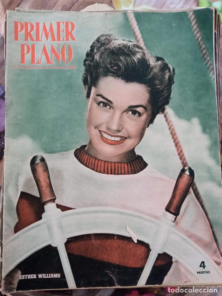 REVISTA PRIMER PLANO. AÑO 1951. ESTHER WILLIAMS, HUMPHREY BOGART, LUIS MARIANO, C. SEVILLA, F. LAMAS (Cine - Revistas - Primer plano)