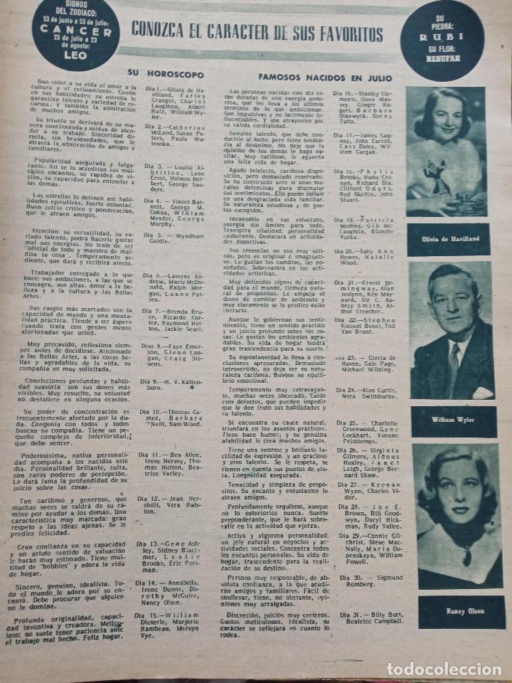 Cine: REVISTA PRIMER PLANO. AÑO 1951. ESTHER WILLIAMS, HUMPHREY BOGART, LUIS MARIANO, C. SEVILLA, F. LAMAS - Foto 4 - 257685260