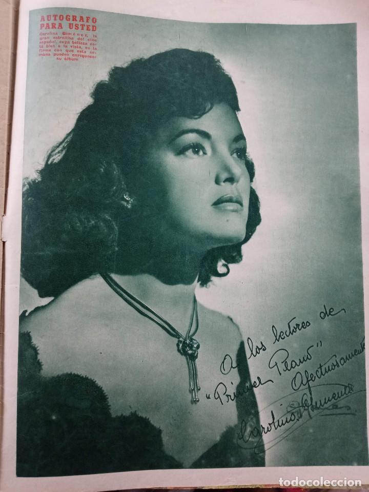 Cine: REVISTA PRIMER PLANO. AÑO 1951. ESTHER WILLIAMS, HUMPHREY BOGART, LUIS MARIANO, C. SEVILLA, F. LAMAS - Foto 6 - 257685260