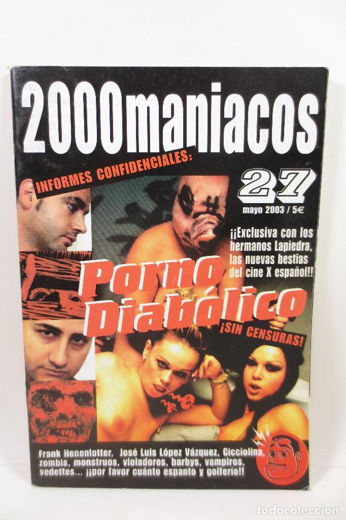 2000 MANIACOS 27 (Cine - Revistas - Otros)