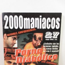 Cine: 2000 MANIACOS 27. Lote 257737025