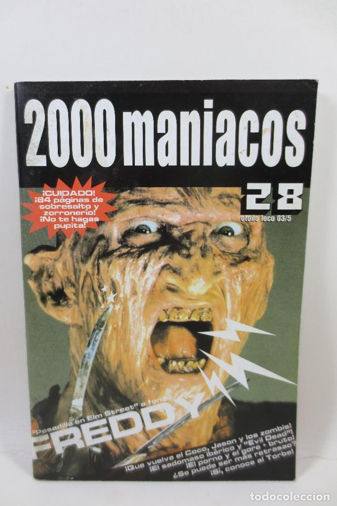 2000 MANIACOS 28 (Cine - Revistas - Otros)