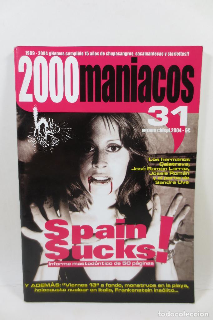 2000 MANIACOS 31 (Cine - Revistas - Otros)