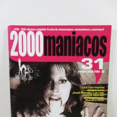 Cine: 2000 MANIACOS 31. Lote 257737905
