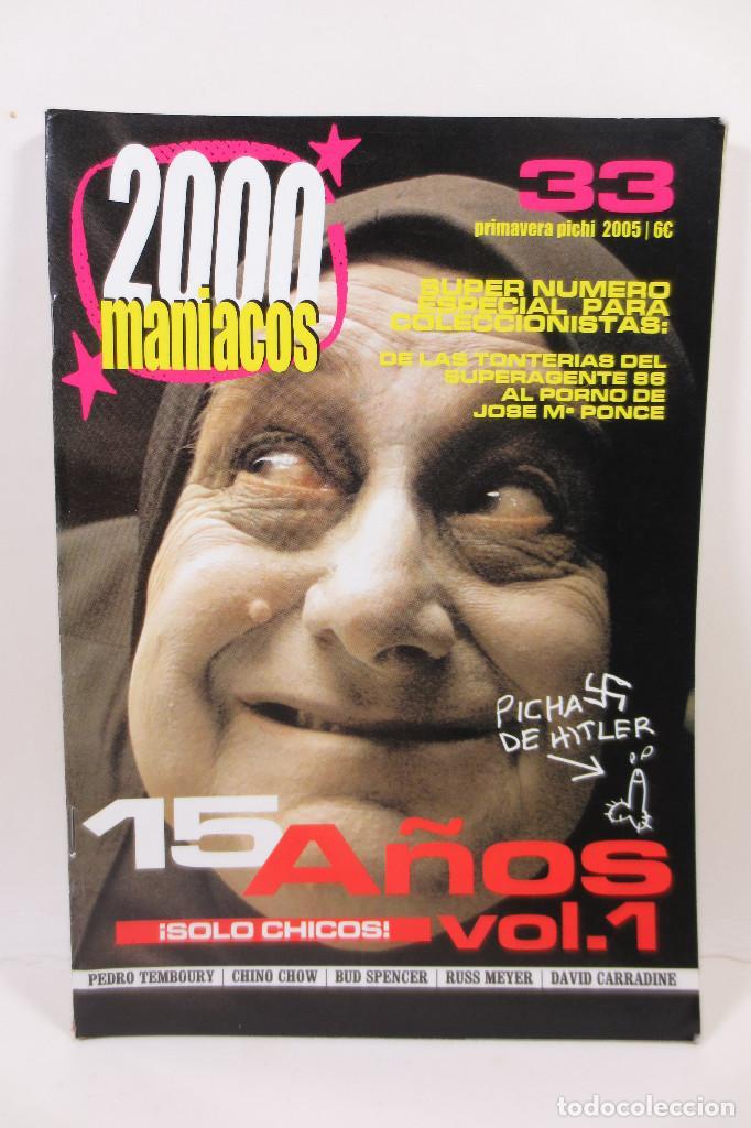 2000 MANIACOS 33 (Cine - Revistas - Otros)