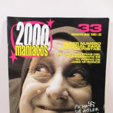 Cine: 2000 MANIACOS 33. Lote 257738110